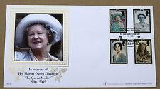 La reine mère 2002 buckingham fdc paynes walk handstamp
