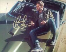 Paul Walker Autographed 8 1/2 X 11 With COA