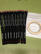 Set of 13 mens Jumbo JL Golf Durometer Grips + Instructions