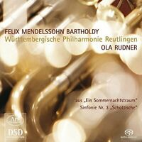Felix Mendelssohn Bartholdy: Symphony No. 3/Excerpts from A Midsummer [CD]