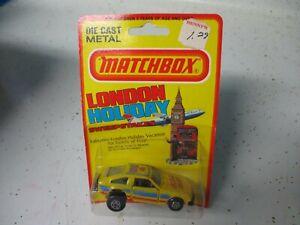 "Matchbox Lesney Superfast SF25 Toyota Celica- ""Yellow Fever"", blistercard"
