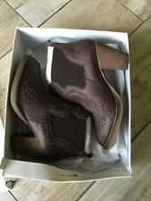 Steve Madden Perplex Brown Ankle Boots Women Size 8 US Or 6 UK