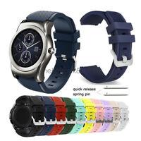 22MM Sport Silicone Watch Strap Wrist Band For LG Watch Urbane W100 W110 W150