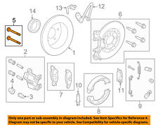 FORD OEM Brake-Rear-Caliper Mount Bolt N606046S60