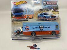 Lancia Rally 037 & Euro Hauler * 2021 Hot Wheels Team Transport Case K