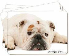 AD-BU1P Bulldog Dog Picture Placemats in Gift Box