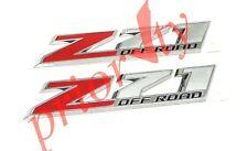 84126998 OEM Front Door z71 Off Road Emblems Chevrolet Colorado Silverado Sierra