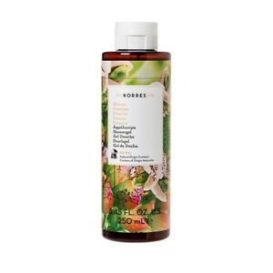 Korres Showergel 250ml (8.45 fl. oz.) New From Our Pharmacy