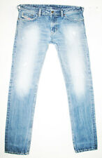 *HOT AUTHENTIC Men's DIESEL @ THAVAR 8B9 Slim SKINNY DISTRESS Denim Jeans 34 x34