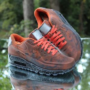 Nike Air Max 90 QS Mars Landing Men's Size 4.5 Orange Black CD0920-600