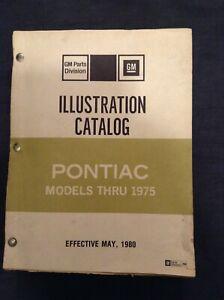 Pontiac Models thru 1975 GM Parts Division Illustration Catalog 20A
