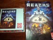 PC Spiel - Realms von  Virgin Games - CD Version! + Handbuch