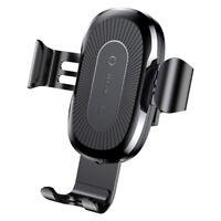KFZ Auto Halterung & Induktive Ladestation Wireless Charger Baseus Samsung S8 S9