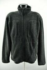 Lundhags Men`s Grey Jacket Zip Neck Long Sleeve Woolen Coat Size M