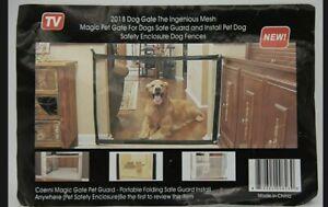 Mesh Dog Gate (As Seen on TV, 2018, Ingenious, Magic Pet, Portable Pet Guard)