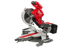 "Milwaukee FUEL 2734-20 M18 18V Dual-Bevel 10"" Brushless Slide Compound Miter Saw"