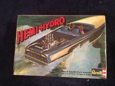 REVELL H-1312:225 HEMI-HYDRO SKI BOAT AND TRAILER  1/25 SCALE MODEL KIT FS