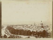 Belgique, Namur, Panorama de la ville avec vue de Cathédrale Saint-Aubain,  ca.1