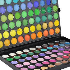 Beauties Factory 120 Color Eye Shadow Palette + Luvvie Eyeshadow Brush AZ89