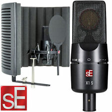 sE Electronics X1 S Studio mic pack Condenser Microphone Vocal Booth Bundle New