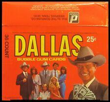 1982 Donruss Dallas - Empty Display Box - Patrick Duffy & Larry Hagman