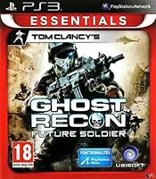 TOM CLANCY'S GHOST RECON FUTURE SOLDIER ESSENTIALS EDITION PS3 GAME