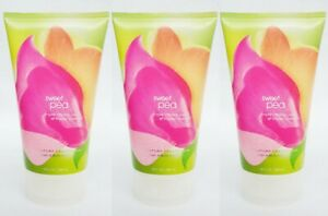 3 Bath & Body Works SWEET PEA Triple Moisture Shower Cream Tube 8 oz