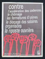 Supplément à ROUGE n°25 RIPOSTE OUVRIERE Ligue Communiste Krivine 1969