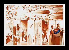 Alex Ross Origins Superman Kent Clark Superhero Backstory Tribute Matted Art