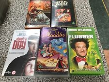 5  Wonderful VHS films including about a boy, flubber, king and I