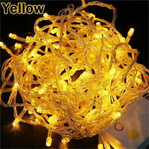 10M 100 LED Fairy Lights String Lamp Wedding Party Tree New Year Holiday Decor