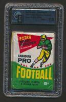 1964 Topps CFL Pack GA NM+ 7.5  CFL Football Cards Memorabilia Unopened Vintage