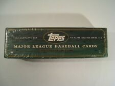TOPPS 2002 Major League Baseball Complete Set Series 1 & 2 Factory Sealed