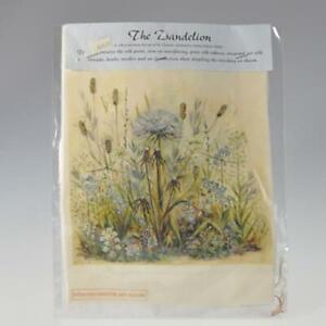 Dandelion Silk Ribbon Embroidery Kit by Helen Dafter Needlework