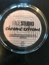 MAYBELLINE Face Studio Chrome Extreme Highlighter 6g SEALED - Molten Gold.