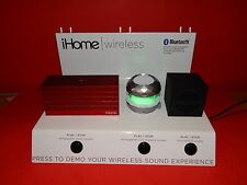 IHOME BLUETOOTH WIRELESS RECHARGEABLE SPEAKER STORE DISPLAY UNIT PEGGED DISPLAY
