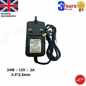 12v 2 amp Mains Charger for Snap On Portable Power PORPR 1700 Booster Pack UK