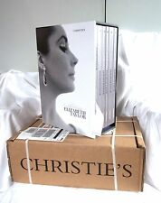 NEW UN-OPENED ELIZABETH TAYLOR CHRISTIE'S AUCTION CATALOGUE complete set of 6