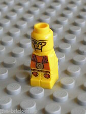 Microfig LEGO games MINOTAURUS Gladiator yellow set 3841 / Minifig neuf new