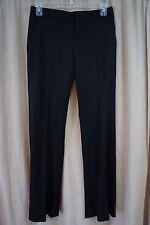 DKNY Pants Sz 10 Black Casual Business Suit Slacks Cocktail Party Dress Pants