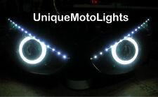 MOTORCYCLE HID PROJECTOR halo angel eyes R6 FZ6 ZX6R 650R SV650S ninja HEADLIGHT