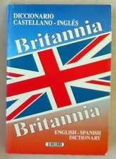 BRITANNIA - DICCIONARIO CASTELLANO / INGLÉS - SERVILIBRO 1995 - VER INDICE