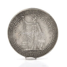 1911 One Yuan Tibetan Warrior Ancient Silver Dollar Coins Collectable Coin AU