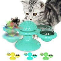 Katzenspielzeug Spielzeug Haarbürste Tickle Haustier Windmühle Plattenspieler