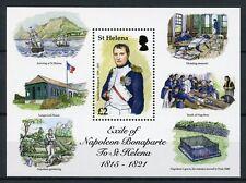 St Helena 2016 MNH Napoleon Bonaparte Exile Longwood House 1v S/S Stamps