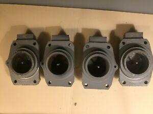 Jaguar 3.4S, 3.8S DUNLOP  PAIR Rear Brake Caliper housing Assemblies with Pin