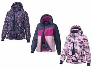 Crivit Mädchen Skijacke Winterjacke Schnee Funktionale Jacke mit Kapuze BIONIC®