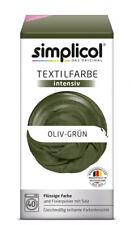 simplicol Textilfarbe intensiv - Oliv-grun, 550g