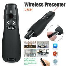 Wireless Presenter Pointer Slide PowerPoint Clicker USB Remote Control Laser Pen