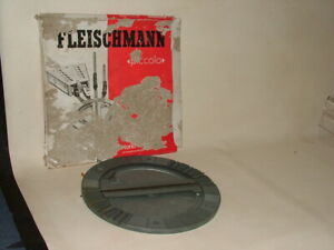 VINTAGE N GAUGE RAILWAY BOXED FLEISCHMANN PICCOLO ENGINE TURNTABLE 9150